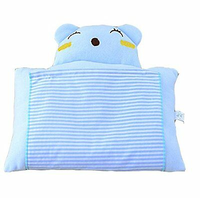 Baby Newborn Infant Toddler Soft Cotton Sleeping Support Pillow Prevent Flat