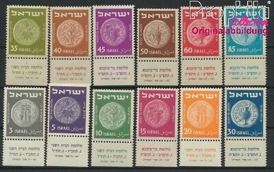 Israel 42-53 with Tab unmounted mint / never hinged 1950 Old Coins (8985122