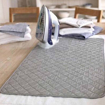 Magnetic Ironing Mat Laundry Pad Washer Dryer Heat Blanket Cover Board 48x85cm #