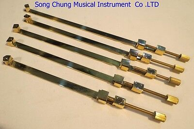 5pcs High quality Violin Tool,brass repair crack plate-type clamp,Luthier tool
