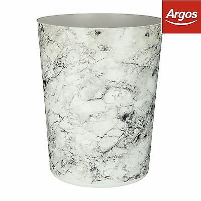 Rome Marble Effect Waste Bin. From the Official Argos Shop on ebay