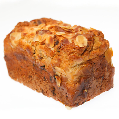 Gluten Free Grain Free Fresh Fruit Log Bread 500g Almond Apricots Sultanas Dairy