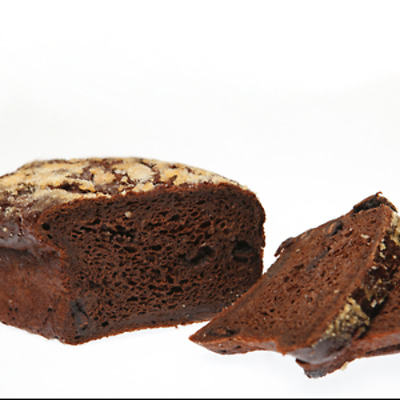 Gluten Free Chocolate Log Bread 500g Dairy/Lactose Free, Grain + Nut Free, Fruct