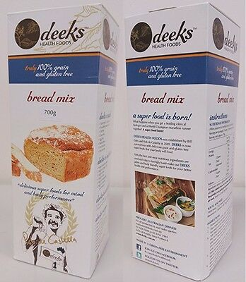 New 700g Bread Mix Gluten and Dairy Free