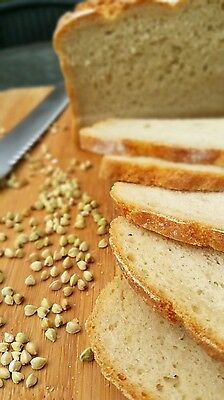 Fresh Buckwheat Bread Loaf Dairy Free