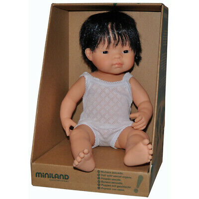 ANATOMICALLY Correct Life-like BABY DOLL ASIAN ETHNIC BOY Pretend PLAY Kids TOY