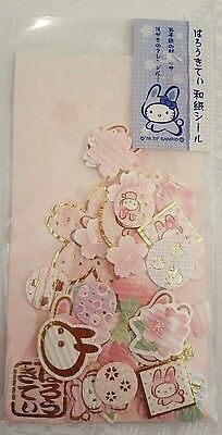 Sanrio Hello Kitty Stickers Sack Washi aper Gold From Japan