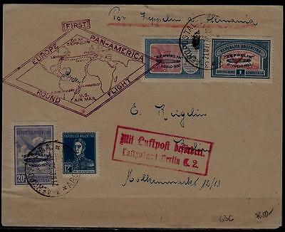 Argentina/Germany Zeppelin cover 21.5.30