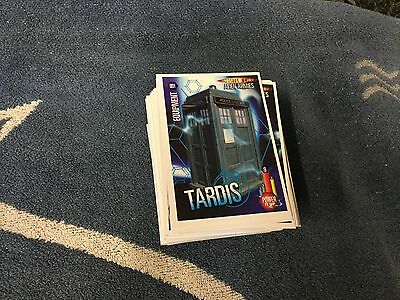 Doctor Who Alien Armies Complete Set 260 Cards Including 3 Limited Edition Cards