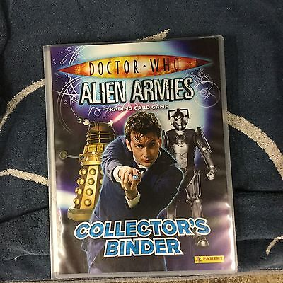 Doctor Who Alien Army Complete Set 260 Cards In Folder