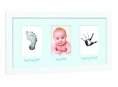 Tiny Ideas Babys Print Handprint or Footprint Keepsake Photo Frame -  A Great