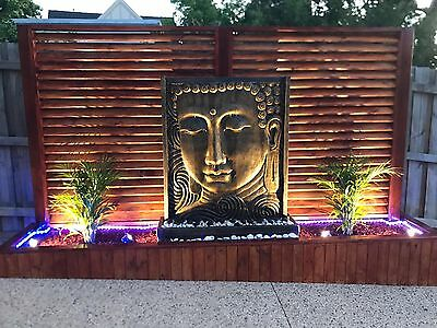 LARGE BUDDHA/BALINESE WATER FEATURES - 1.5M H x 1.2M W
