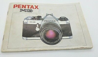 Pentax MG camera ORIGINAL instruction manual