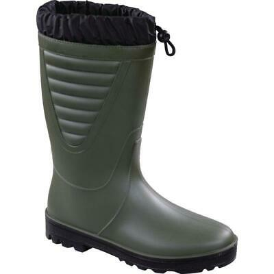 Heavy Duty Fur Lined Thermal Wellington Boots Wellies Winter Warm Work Outdoor