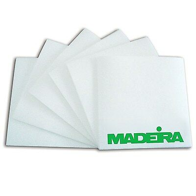 1000 x White Pre Cut Squares Easy Tear 50g Madeira Embroidery Stabiliser Backing