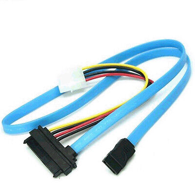 SAS Serial Attached SCSI SFF-8482 to SATA HDD Hard Drive Adapter Cord Cable