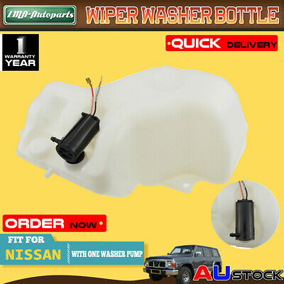 For Nissan Patrol GQ Y60 Ford Maverick 88-97 UTE With 1 pump Wiper Washer Bottle