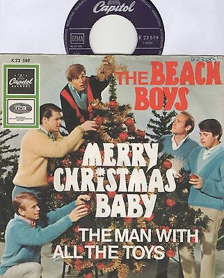 "7"" Beach Boys - Merry Christmas baby - Germany 1967 - PS - rar!!!!!"