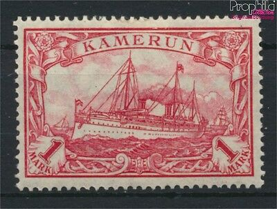 Cameroon, German Colony 24II B hinged 1919 Imperial Yacht Hohenzollern (9030080