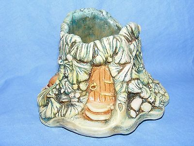 Pendelfin Stoneware Mouse House Match Holder Made In Burnley England