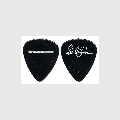 Rammstein Richard Kruspe-Bernstein authentic 2004 tour signature Guitar Pick
