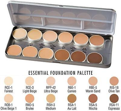 *SALE* Ben Nye Professional Matte HD Foundation Palette 12 Colours