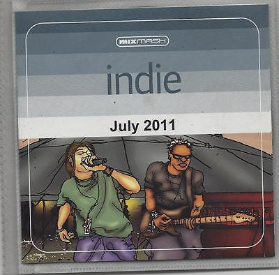 New Unplayed Dj Dvd - Mixmash - Indie July 2011 - Vaccines Elbow My Chemical Rom
