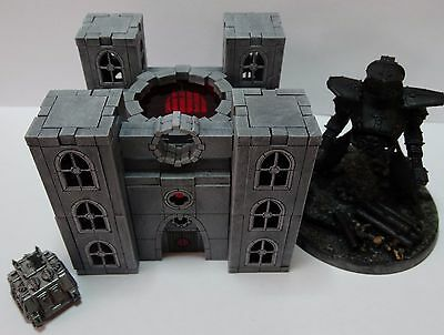 Wargames Scenery: 6mm scale Temple of the machine Epic 40k FoW buildings