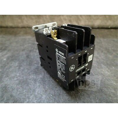 GE CR553AB4BBB Definite Purpose Contactor, 25FLA, 35A Res, 208-240V 60Hz, 4 Pole