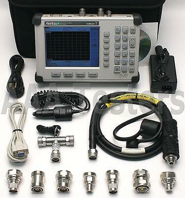 Anritsu SiteMaster S332D Cable / Antenna & Spectrum Analyzer Options 3/10A/21/29