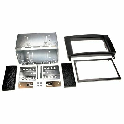 Hama Double Din Radio Installation Kit for Mercedes A Class, black (K2O)