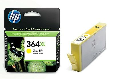 GENUINE HP CB325EE 364XL Yellow Ink Cartridge (750 Pages Yield)