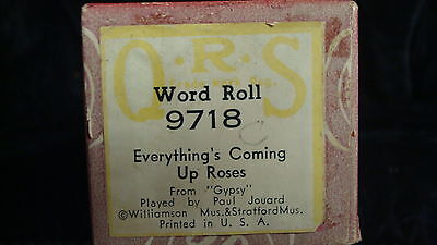 Everything's Coming Up Roses (Gypsy) - QRS 9718 Piano Roll