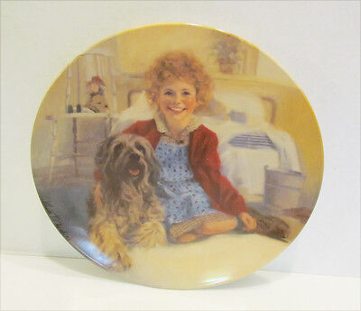Little Orphan Annie And Sandy 1982 Collector's Plate By Knowles William Chambers