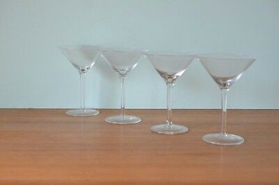 Vintage Martini glasses funky retro alcohol drinks barware cocktail glass