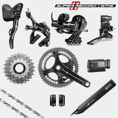 Campagnolo Super Record EPS V3 11 Speed Carbon Double Groupset NO F/DERAILLEUR