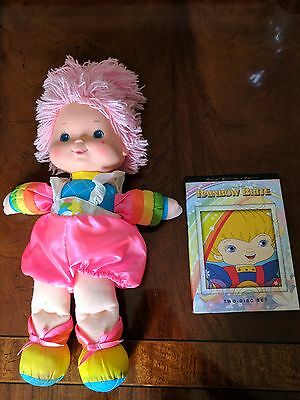 Rainbow Brite Special Collector's Edition DVD Set (w/ Doll)