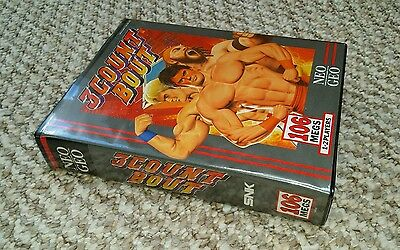 NEW SEALED    3 count bout SNK Neo Geo AES Game boxed retro