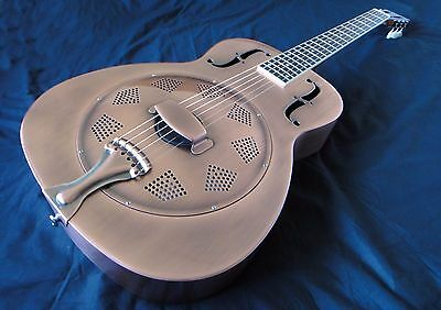 Duolian 'O' Style Resonator Resophonic Guitar - 'Antique' Copper Finish