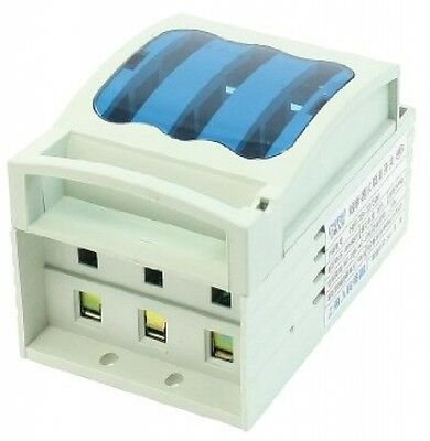 Electronic Disconnect Isolator Switch 3 Pole W AC 500V 32A 14x51mm Fuse