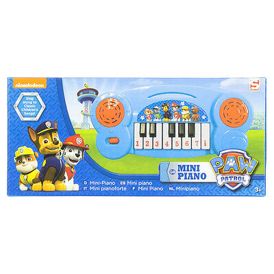 Paw Patrol Mini Piano, Nickelodeon, NEU, Musikintrument, Keyboard, Kinder