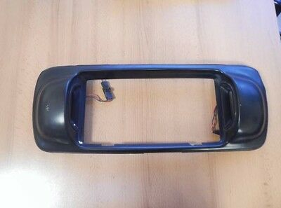 Jdm Nissan Micra Rear Black Rear Number Plate Surround K11 March - Rare
