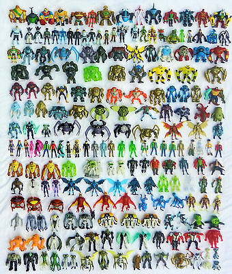 Ben 10 Action Figures 10cm-CHOICE of 220 Omniverse,Haywire,Ultimate,Alien LIST 2