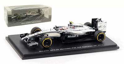 1:43 McLAREN MP4/29 #20 Kevin Magnussen 2nd Australian GP 2014 SPARK S3073 NEW
