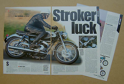 1964 Yamaha YDS2 246cc motorcycle Tested - 5 page sides article