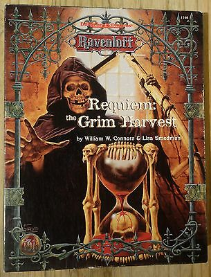 AD&D Advanced Dungeons & Dragons Requiem The Grim Harvest TSR 1146