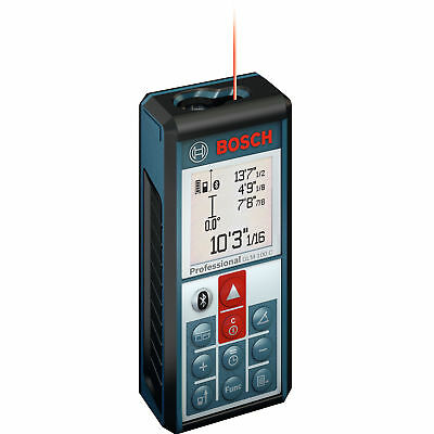 Bluetooth 330' Li-Ion Laser Distance + Angle Measure Recon Bosch GLM100C-RT