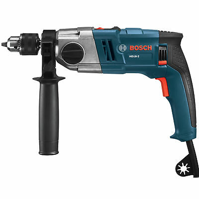 1/2'' 2-Speed Reconditioned Hammer Drill Kit Bosch Tools HD18-2-RT