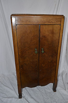 Walnut HARRODS art deco Sheet Music Cabinet