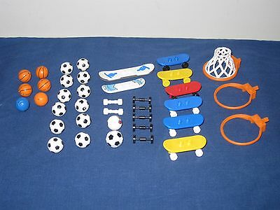 Lego Sports Accessories Sport Lot Basketball Soccer Skateboard Snowboard